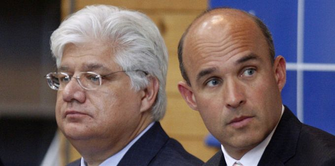 Mike Lazaridis y Jim Balsillie